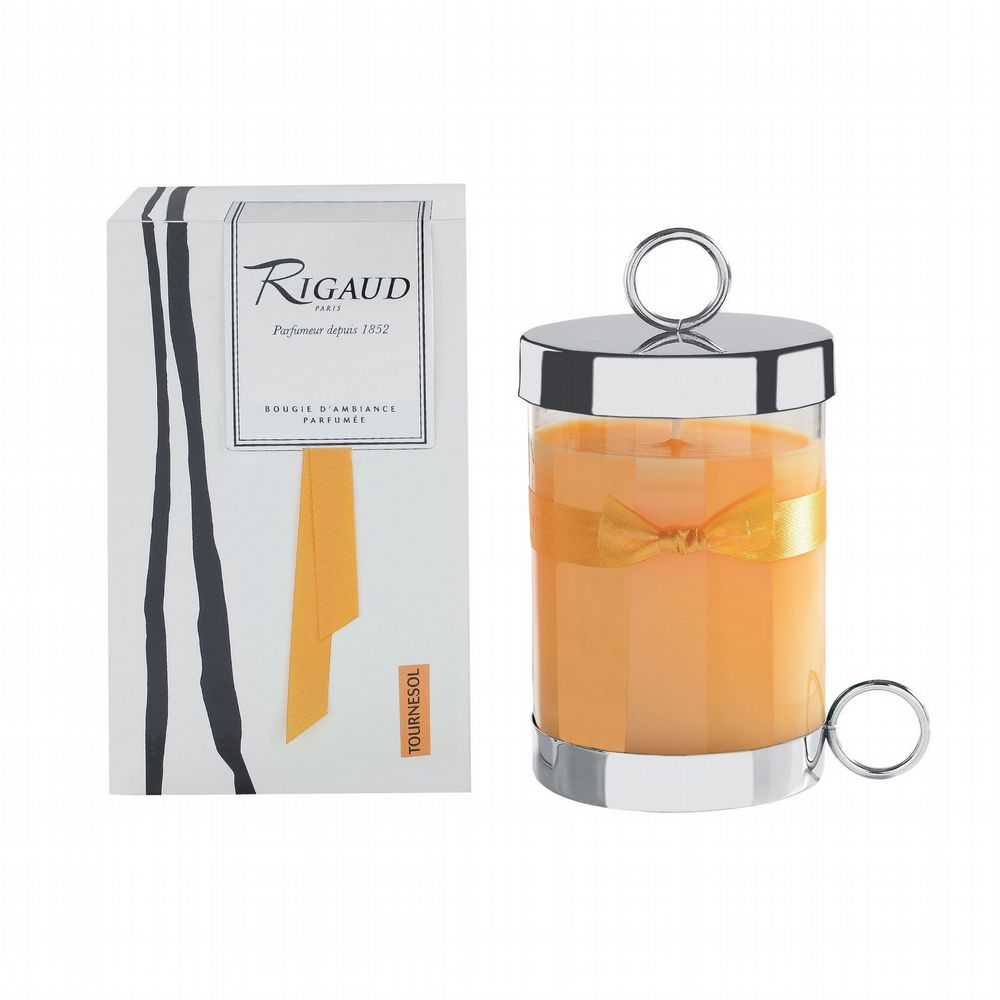 Rigaud - Complete Candle With Lid - Tournesol